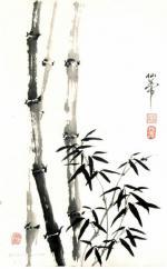 Китайское рисунки кистью